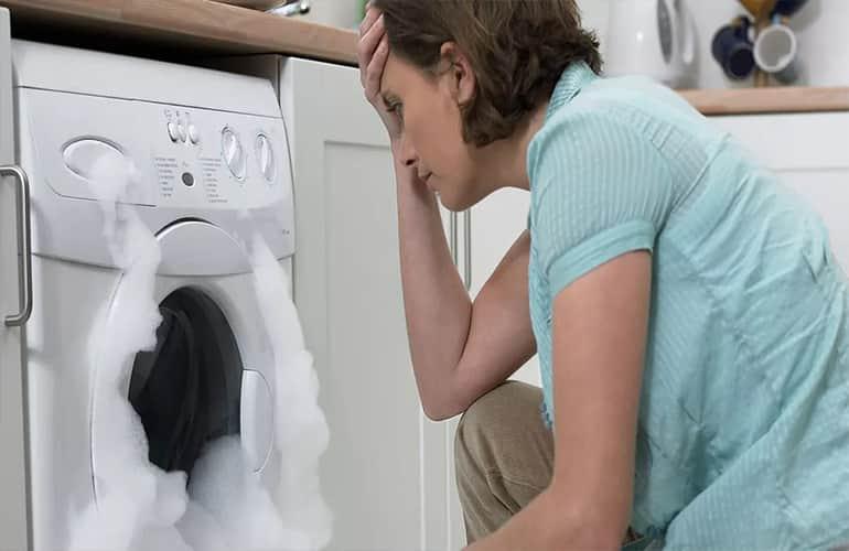 علل رایج خرابی ماشین لباسشویی